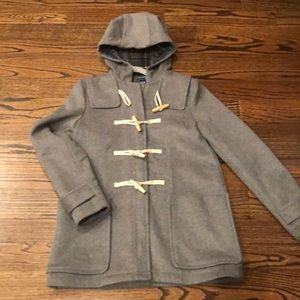 NWOT GAP wool blend toggle coat